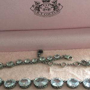 Glamorous crystal Juicy  Couture necklace